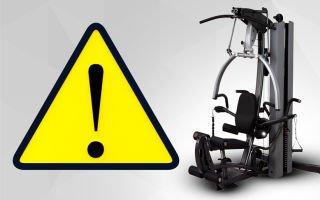 Несчастные случаи в спортзале – первая помощь и профилактика