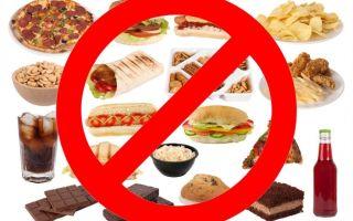 Продукты, которые нежелательны при снижении веса