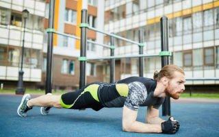 Планка для мужчин. Идеальное упражнение для укрепления живота