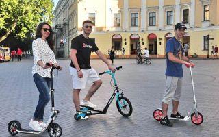 Городской самокат для взрослых – хорошая альтернатива велосипеду?