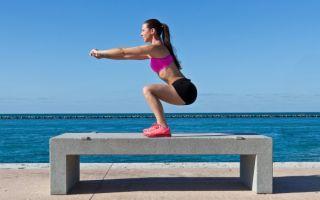 Уличные тренировки – упражнения для ног