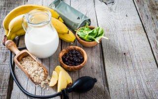 Какие продукты употреблять для снижения артериального давления?