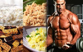 Здоровая диета для спортсмена