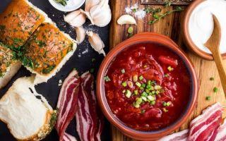 10 чисто русских блюд с низким содержанием углеводов