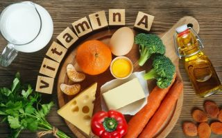 Витамин А (ретинол) – описание, действие, источники, дефицит