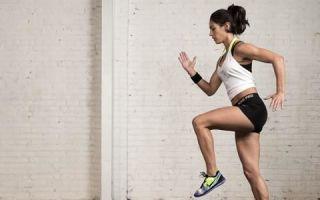 Скорость движения во время тренировки
