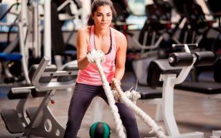 Кроссфит – упражнения с веревками