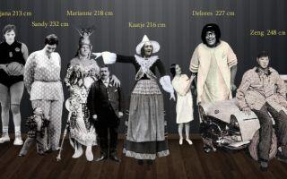 Самые высокие женщины в истории