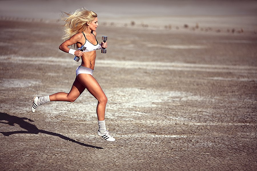 скорость бега спортсменов