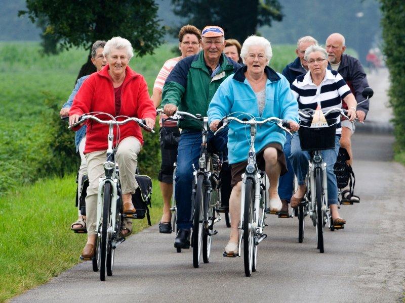 Спорт против старения, фото