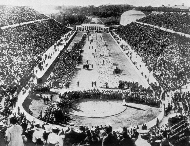 интересные факты о первых олимпийских играх