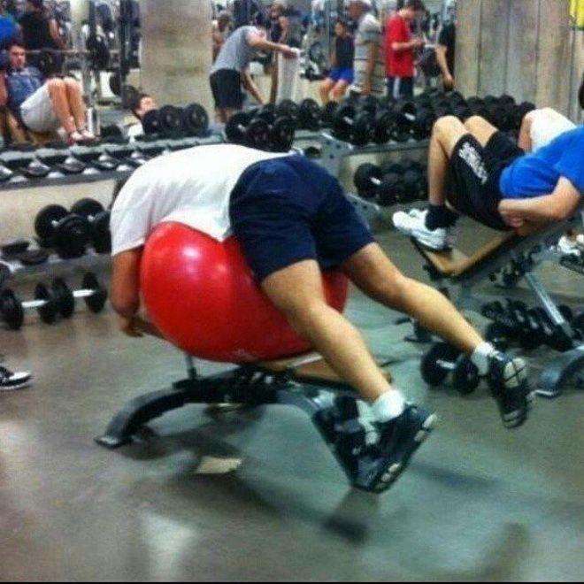 Смешные картинки о спортзале