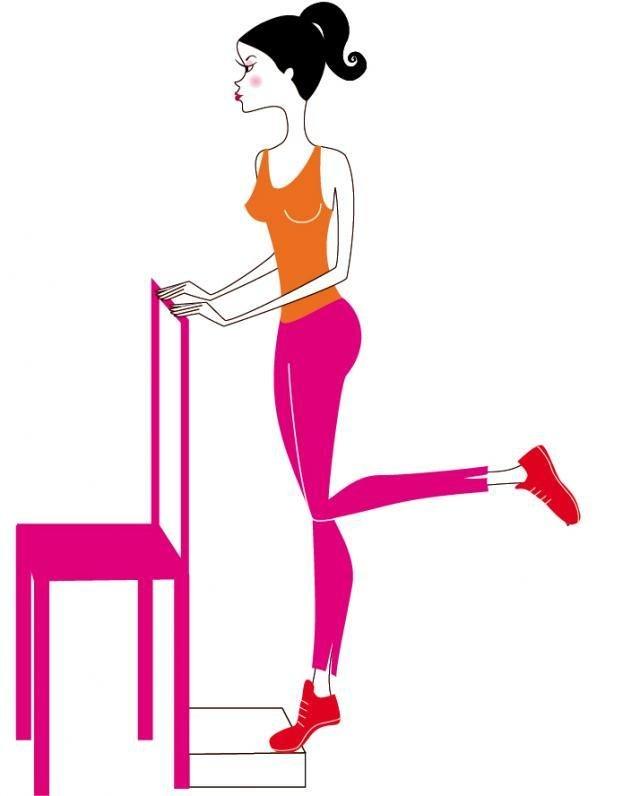 красивые ноги упражнения