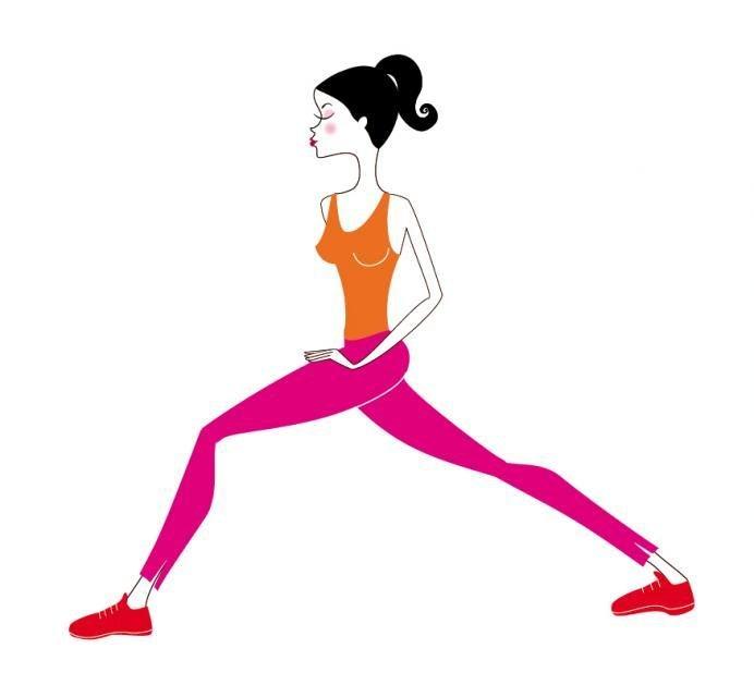 упражнение для стройных ног