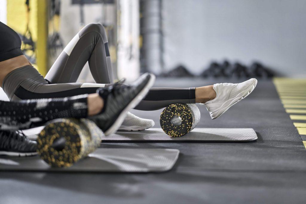 роликовый массаж после тренировки