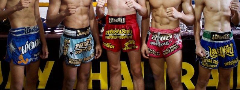 шорты для тайского бокса
